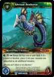 warcraft tcg throne of the tides abyssal seahorse