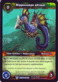 warcraft tcg throne of the tides french abyssal seahorse french