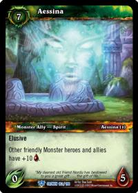 warcraft tcg crown of the heavens aessina
