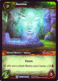 warcraft tcg crown of the heavens foreign aessina italian