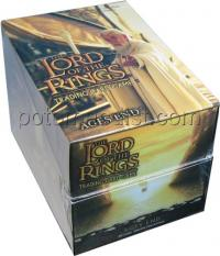 lotr tcg lotr sealed product ages end sealed booster box