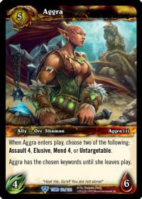 warcraft tcg tomb of the forgotten aggra