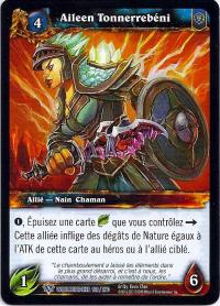 warcraft tcg worldbreaker foreign aileen the thunderblessed french
