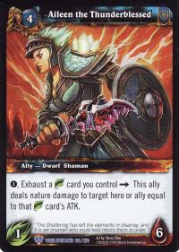 warcraft tcg worldbreaker aileen the thunderblessed