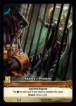 warcraft tcg extended art akama s promise ea