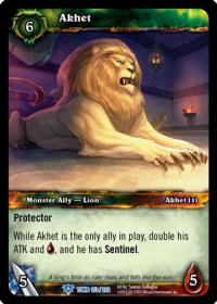 warcraft tcg tomb of the forgotten akhet