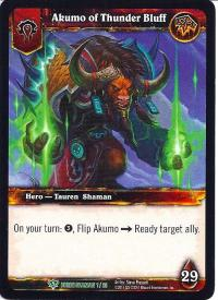 warcraft tcg class decks 2011 spring akumo of thunder bluff