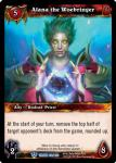 warcraft tcg throne of the tides alana the woebringer