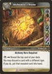 warcraft tcg crafted cards alchemist s stone
