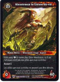 warcraft tcg worldbreaker foreign alexstrasza the life binder french