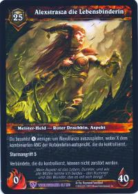 warcraft tcg worldbreaker foreign alexstrasza the life binder german