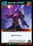 warcraft tcg foil hero cards almia moonwhisper