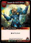 warcraft tcg foil hero cards amah the sun s grace