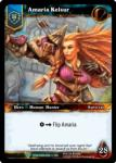warcraft tcg foil hero cards amaria kelsur