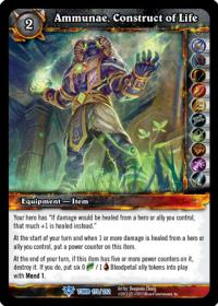 warcraft tcg tomb of the forgotten ammunae construct of life