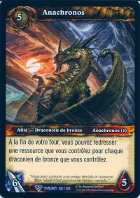 warcraft tcg twilight of dragons foreign anachronos french