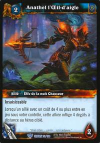warcraft tcg crown of the heavens foreign anathel the eagle eye french