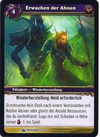 warcraft tcg wrathgate ancestral awakening german