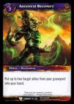 warcraft tcg war of the elements ancestral recovery