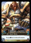 warcraft tcg extended art andiss butcherson ea