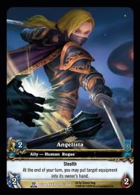 warcraft tcg extended art angelista ea