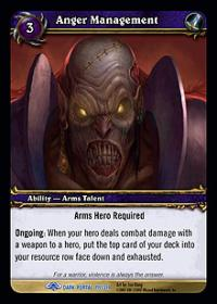warcraft tcg the dark portal anger management