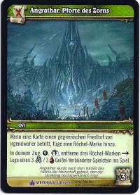 warcraft tcg wrathgate angrathar the wrathgate german