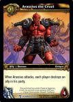 warcraft tcg march of legion arazzius the cruel