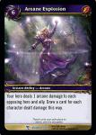 warcraft tcg march of legion arcane explosion