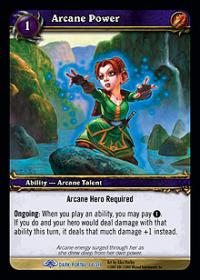 warcraft tcg the dark portal arcane power