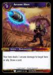 warcraft tcg war of the elements arcane shot