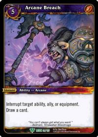 warcraft tcg reign of fire arcane breach