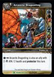 warcraft tcg archives arcaonite dragonling foil