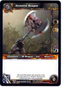 warcraft tcg class decks 2011 spring arcanite reaper cd