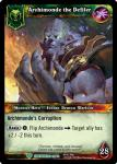 warcraft tcg war of the ancients archimonde the defiler
