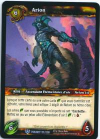 warcraft tcg twilight of dragons foreign arion french