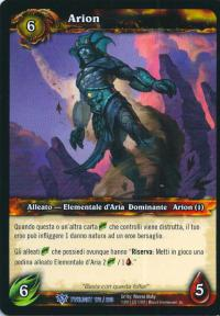 warcraft tcg twilight of dragons foreign arion italian