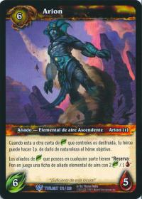 warcraft tcg twilight of dragons foreign arion spanish