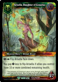 warcraft tcg crown of the heavens arisella daughter of cenarius