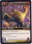 warcraft tcg wrathgate armored blue wind rider