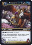 warcraft tcg wrathgate armored snowy gryphon