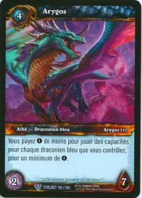 warcraft tcg twilight of dragons foreign arygos french
