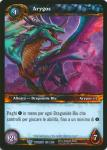 warcraft tcg twilight of dragons foreign arygos italian