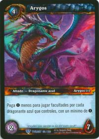 warcraft tcg twilight of dragons foreign arygos spanish
