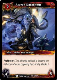 warcraft tcg throne of the tides asoren darksnout