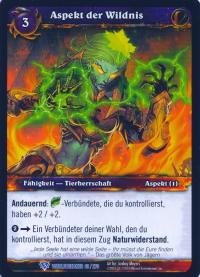 warcraft tcg worldbreaker foreign aspect of the wild german