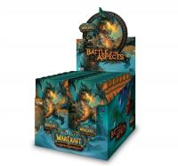 warcraft tcg warcraft sealed product battle of aspects treasure pack box