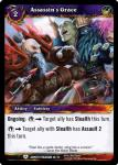 warcraft tcg battle of aspects assasin s grace