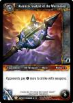 warcraft tcg battle of aspects ataraxis cudgel of the warmaster