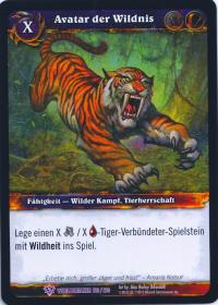 warcraft tcg worldbreaker foreign avatar of the wild german